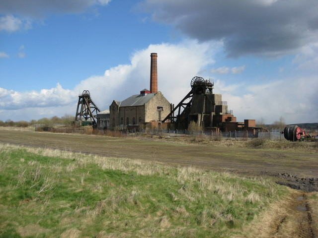 Pleasley Colliery Buildings