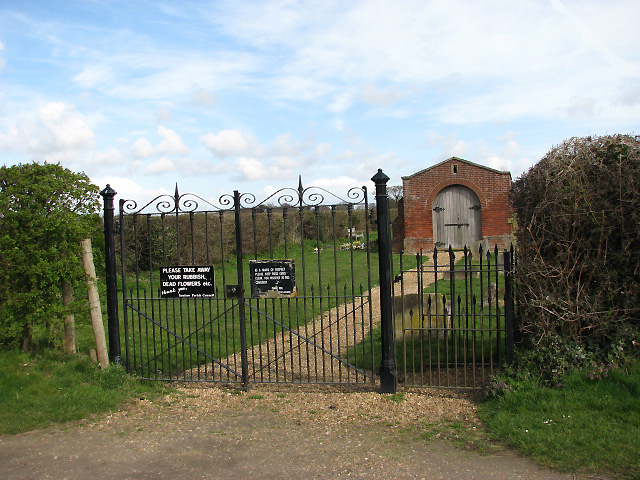 Entrance to War Graves Plot