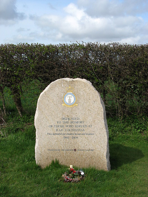 Memorial to those who served at RAF Coltishall