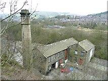 SE0511 : Wood Bottom Mill, Marsden by Humphrey Bolton