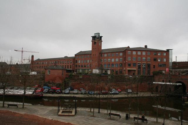 Mills across the water