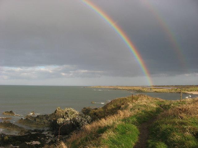 Rainbows over Bremore