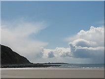 SH5630 : Harlech Beach by Peter Humphreys