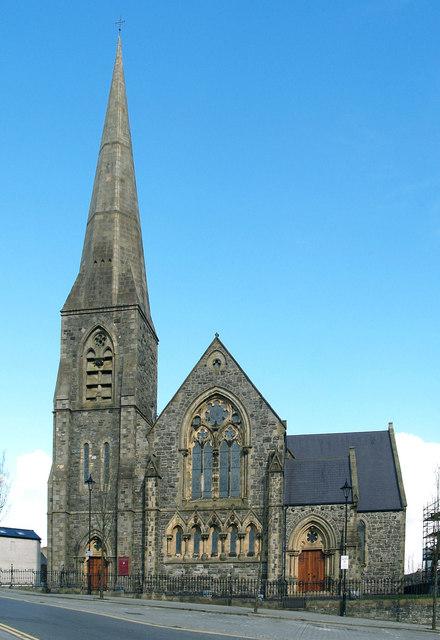 The four hill churches (St Columba's COI), Omagh