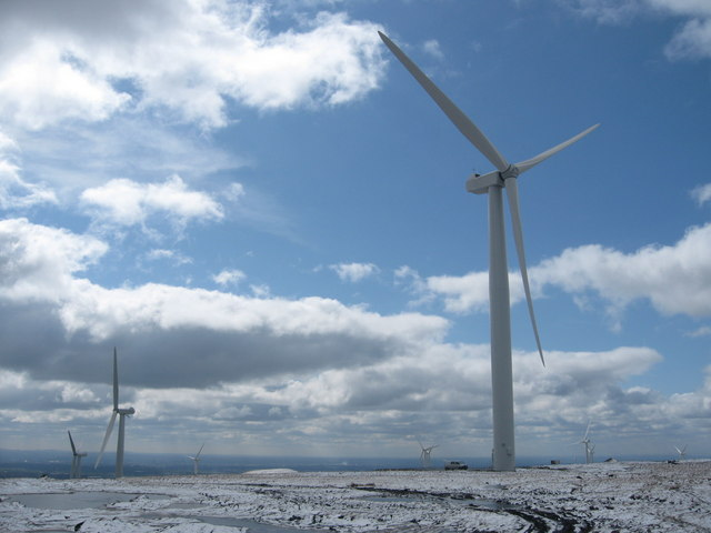 Scout Moor Wind Turbine No 25 goes live