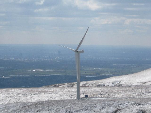 Scout Moor Wind Farm Turbine Tower No 9