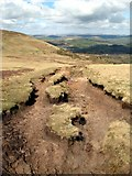 SO0022 : Eroded footpath by Sharon Loxton