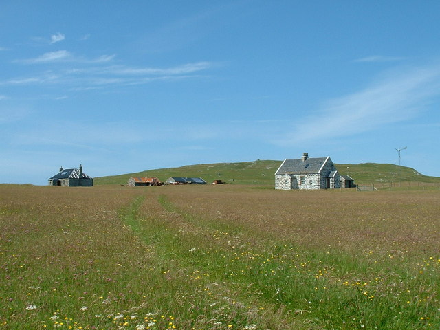 Houses on Boreray (North Uist)