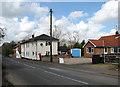 TG1022 : Approaching Reepham on Norwich Road by Evelyn Simak