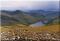 NN5048 : View south west from the south top of Meall Buidhe by Nigel Brown