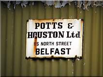 J3267 : Sign, Ballylesson by Rossographer