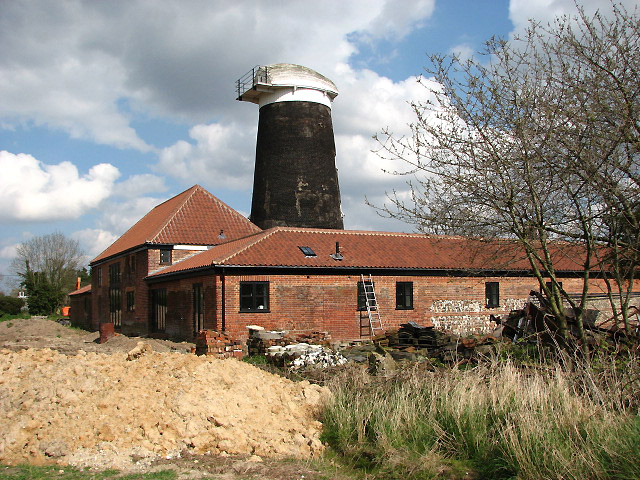 Frettenham towermill conversion