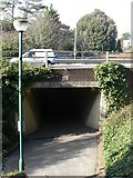 SZ0991 : Bournemouth: by-pass subway on footpath C12 by Chris Downer