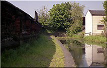SD7807 : Dropped bridge at Radcliffe by Dr Neil Clifton