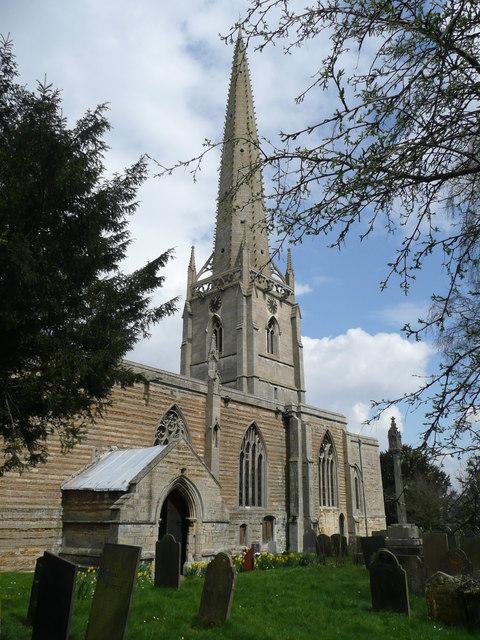 St. Vincent's church, Caythorpe, south aspect