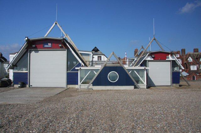 New lifeboat station at Aldeburgh