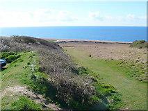 SY5088 : View Down to Cogden Beach by Nigel Mykura