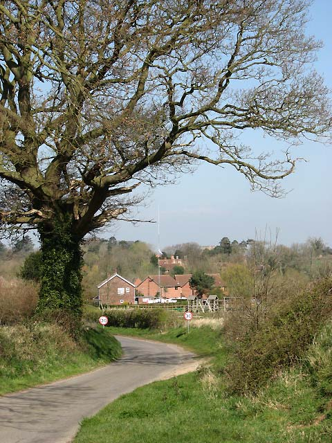 Approach to Swannington by Evelyn Simak