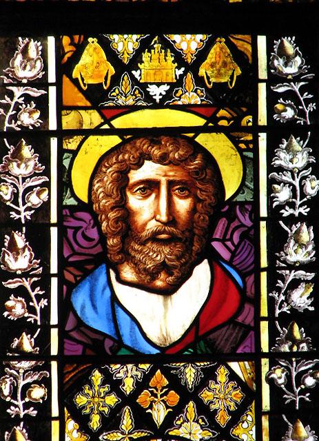 St Margaret's church - east window detail