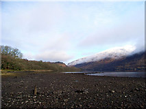 NN0925 : North West towards the falls of Cruachan by Keith Grinsted