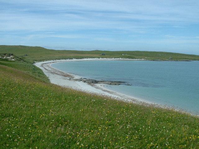Beach on Boreray North Uist