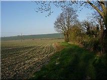 TL3852 : Footpath south of Harlton by Hugh Venables