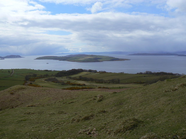 Cumbrae, from The Knock