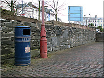 J5081 : The old sea wall, Bangor by Rossographer