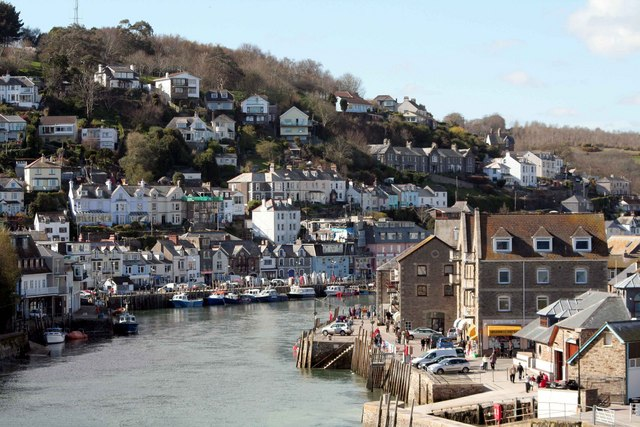 West Looe and the river