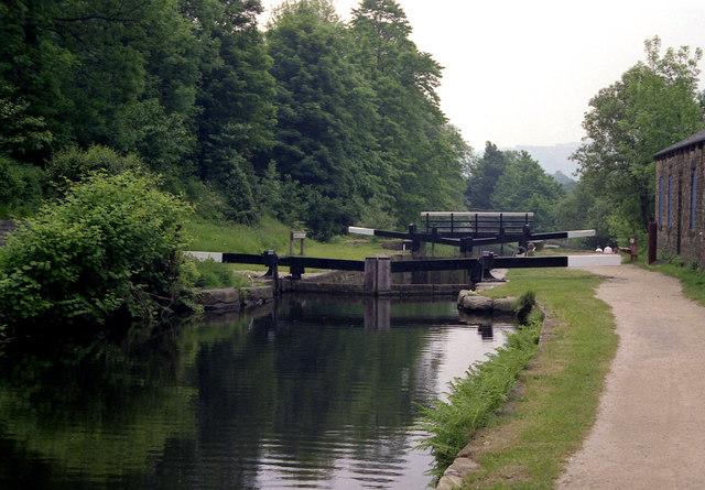 Mayroyd Mill Lock No 8, Rochdale Canal