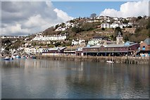 SX2553 : The Fish Market East Looe by roger geach