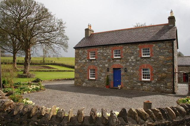 Stone built house