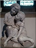 TR0653 : The Hardy Children. Monument in St. Mary's church by pam fray
