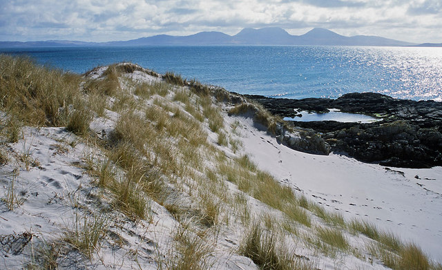 Sand dunes south of Port a Chapuill