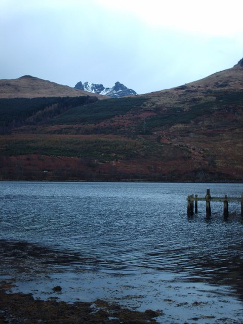 The Cobbler Peeping From Behind Monadh Liath