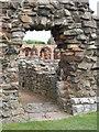 NU1241 : Lindisfarne Priory by Dave Pickersgill