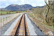 SH6041 : Rheilffordd Eryri Porthmadog Welsh Highland Railway by Alan Fryer