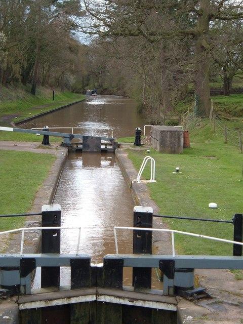 Shropshire Union  Canal at Coxbank