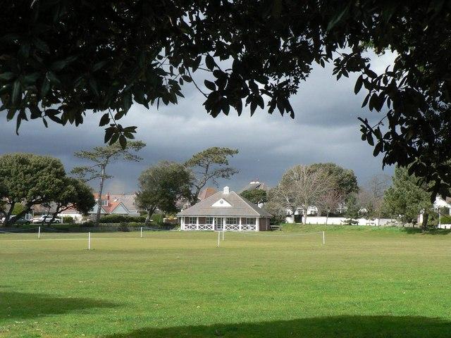 Stanpit: cricket ground