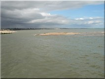 SZ1891 : Mudeford: tidal island by Chris Downer