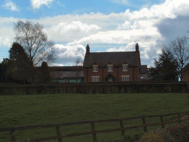 Kynsal Farm, near to Coxbank