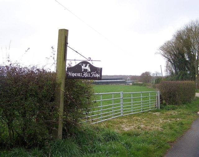 Wrinehill Hall Farm