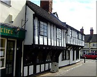 SJ9223 : Church Lane, Stafford by Simon Huguet