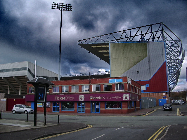 The Jimmy Mcllroy Stand, Turf Moor, Burnley FC