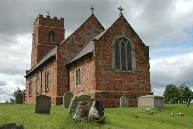 The church at Montford
