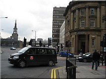 NZ2564 : Newcastle Upon Tyne - Mosley Street junction with Pilgrim Street by Alan Heardman