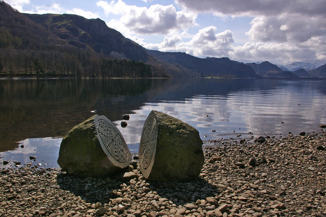 """""""Hundred Year Stone"""" and Falcon Crag"""