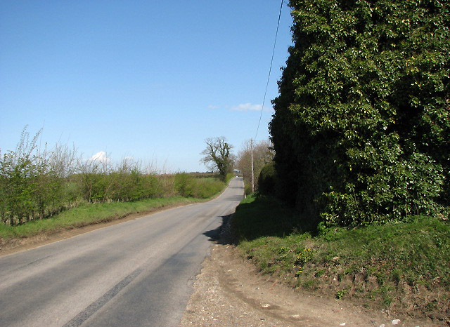 View downhill