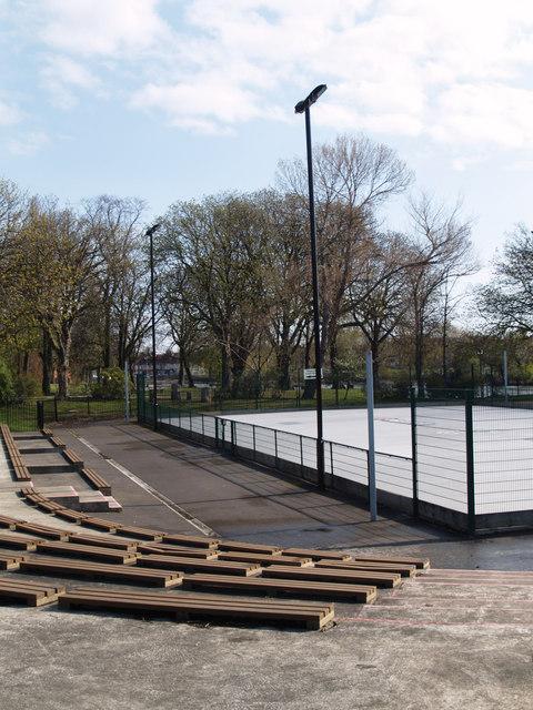 Skating rink in Albert Park
