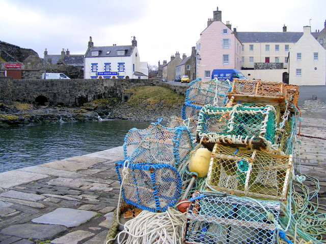 The Old Harbour at Portsoy